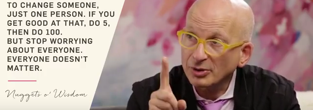 Seth Godin interview by Marie Forleo
