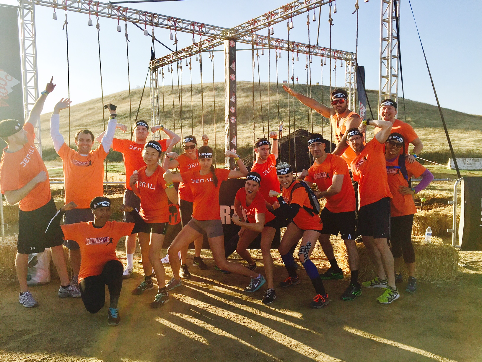 Courage Performance, Spartan race